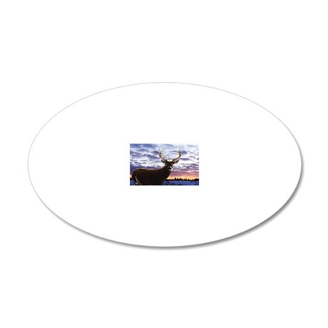 beech_bagFRNT 20x12 Oval Wall Decal