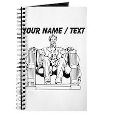 Custom Lincoln Memorial Journal