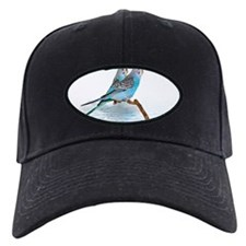 2 blue parakeets Baseball Hat