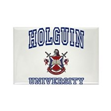 HOLGUIN University Rectangle Magnet