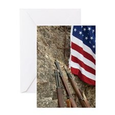 Normandy American Memorial on 66th A Greeting Card