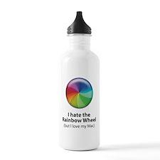 Rainbow Wheel Mug Water Bottle