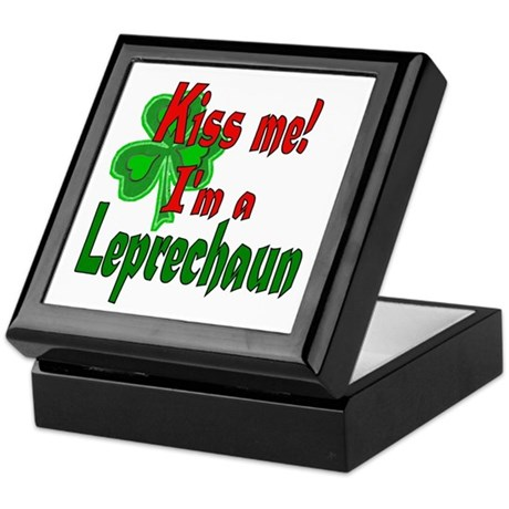 Kiss Me Leprechaun Keepsake Box