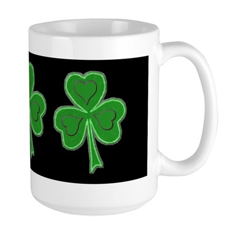 Kiss Me Leprechaun Large Mug