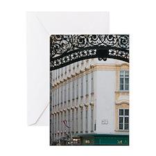 AUSTRIA, Vienna: Michaelerplatz / Ho Greeting Card