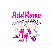 BEST TEACHER Invitations