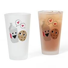 Milk  Cookie Love Drinking Glass