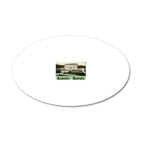 augusta 20x12 Oval Wall Decal