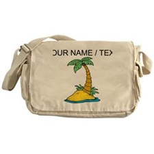 Custom Palm Tree Messenger Bag