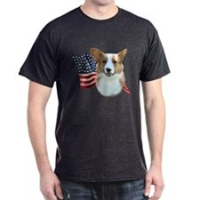 Corgi Flag T-Shirt