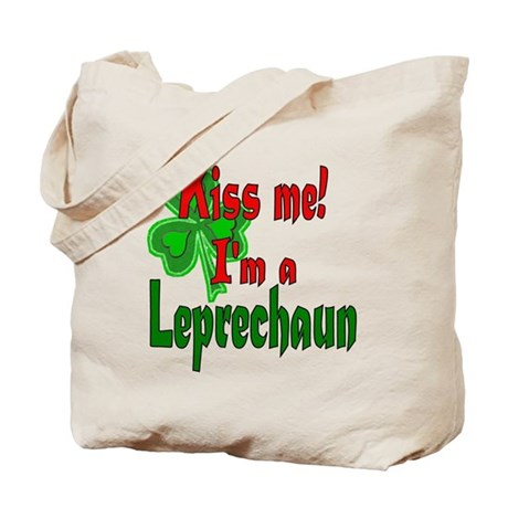 Kiss Me Leprechaun Tote Bag