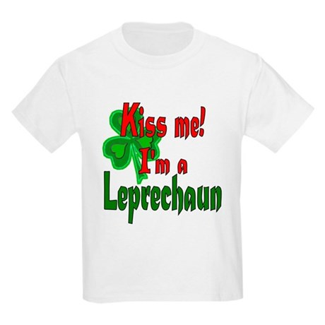 Kiss Me Leprechaun Kids T-Shirt