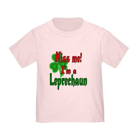 Kiss Me Leprechaun Toddler T-Shirt