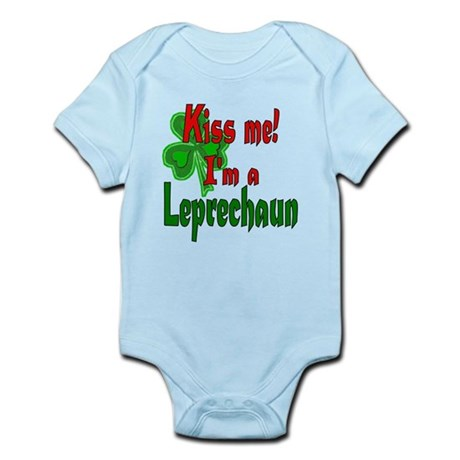 Kiss Me Leprechaun Infant Bodysuit