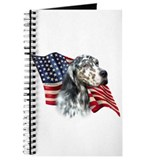 English Setter Flag Journal