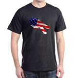 For Motorcycle Riders (USA fl T-Shirt