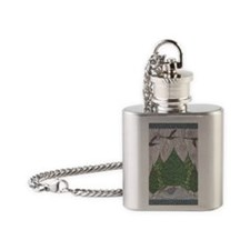 Heading South Flask Necklace