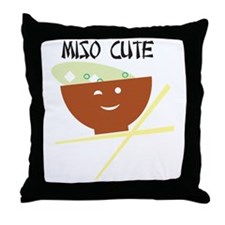 miso_Page 1 Throw Pillow