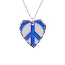 peaceGlowBlue Necklace
