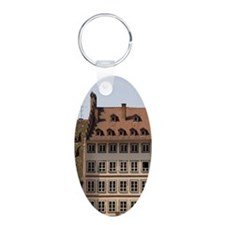 People gather in Cathedral  Keychains