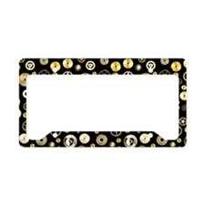 Cogs and Gears WB License Plate Holder