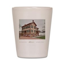 16x20 the lincoln home Shot Glass