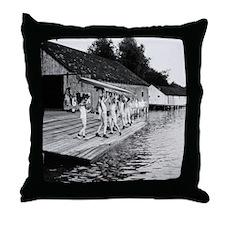 Yale Varsity 1910 to 1915 Throw Pillow
