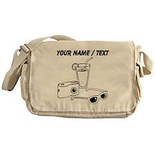 Custom Vacation Messenger Bag