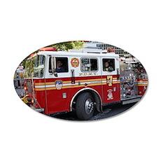 Fireman 06 35x21 Oval Wall Decal