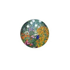 iPad Klimt Flowers Mini Button