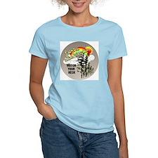 ForksWashingtonbutton Women's Light T-Shirt