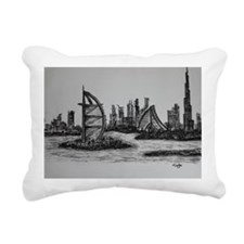 Dubai Rectangular Canvas Pillow