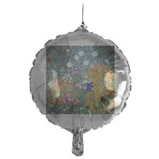 FF Klimt Flowers Mylar Balloon