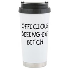 OFFICIOUS Ceramic Travel Mug