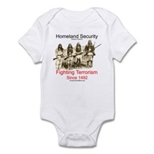 Fighting Terrorism Since 1492 - Apache Infant Body