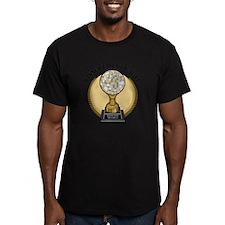 TakesTheBall Men's Fitted T-Shirt (dark)