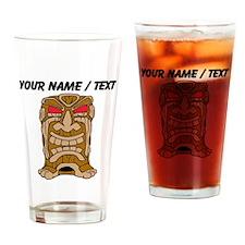 Custom Tiki Statue Drinking Glass