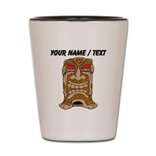 Custom Tiki Statue Shot Glass
