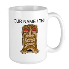 Custom Tiki Statue Mugs