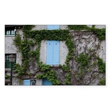 France, Paris. Ivy-covered wal Decal