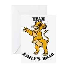 emilys_roar_lg Greeting Card