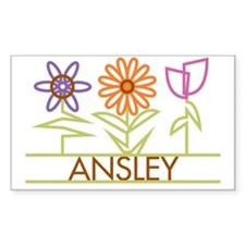 ANSLEY-cute-flowers Decal