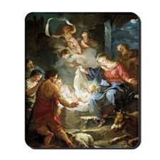 nativity4 Mousepad