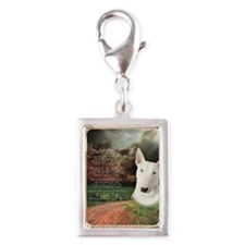 godmadedogs(button) Silver Portrait Charm