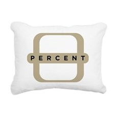 1P-LogoBlackShirt Rectangular Canvas Pillow