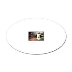 godmadedogs(carmag) 20x12 Oval Wall Decal