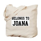Belongs to Joana Tote Bag