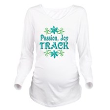 TRACK Long Sleeve Maternity T-Shirt