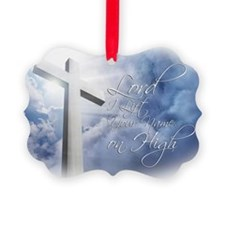 Lord-I-Lift-Your-Name Picture Ornament