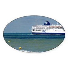 Ferry boat at the Strait of Dover i Decal